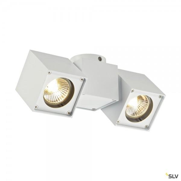 SLV 151531 Altra Dice, Strahler, weiß, QPAR51, GU10, max.2x50W