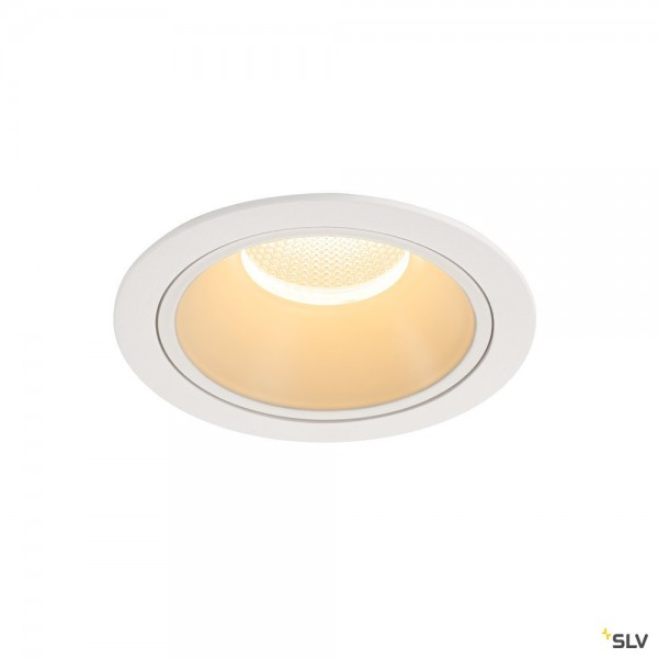 SLV 1004022 Numinos XL, Deckeneinbauleuchte, weiß, LED, 37,4W, 3000K, 3550lm, 20°