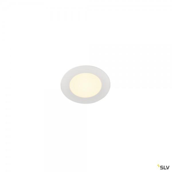 SLV 1003008 Senser 12, Deckeneinbauleuchte, weiß, LED, 6W, 3000K, 470lm