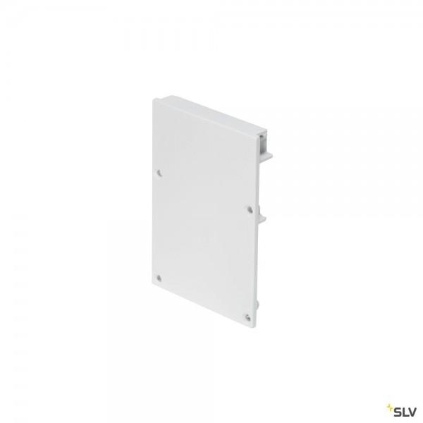 SLV 213481 Glenos 4970, Endkappen, weiß, 2 Stück