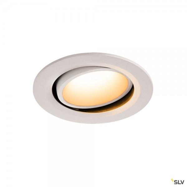 SLV 1003644 Numinos Move L, Deckeneinbauleuchte, weiß, LED, 25,41W, 2700K, 2250lm, 55°