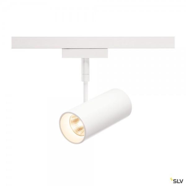 SLV 140201 Revilo, 2 Phasen, Strahler, weiß, LED, 9,5W, 2700K, 620lm, 15°