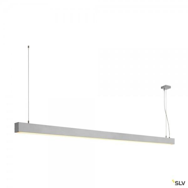 SLV 1001408 Glenos, Pendelleuchte, alu eloxiert, dimmbar 1-10V, LED, 85W, 3000K, 5700lm