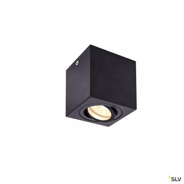 SLV 1002013 Triledo Square, Deckenleuchte, schwarz, LED GU10, max.10W