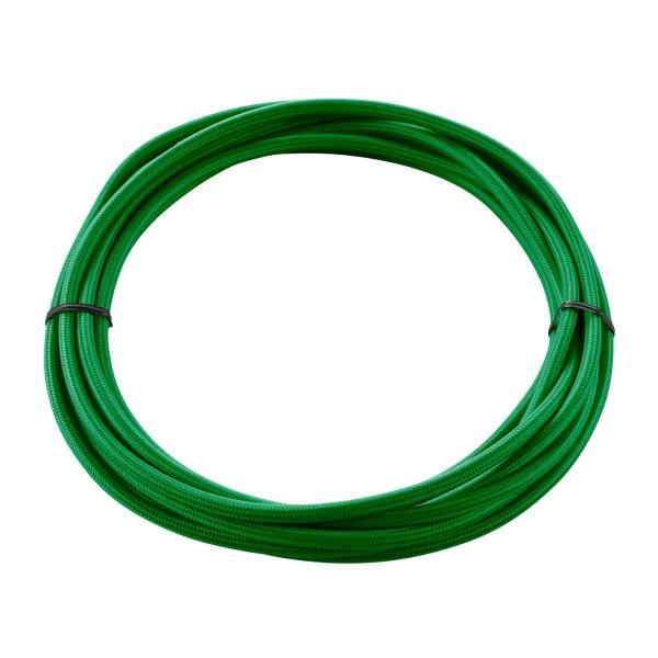 SLV 961375 Textilkabel, 5m, 3-adrig, grün