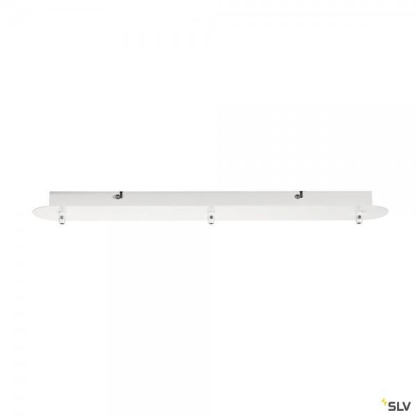 SLV 1001819 Fitu, Deckenrosette, 3er, weiß