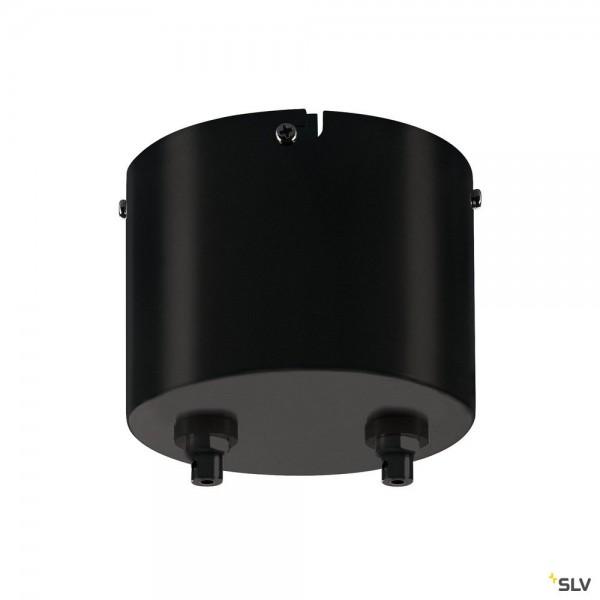 SLV 1002691 Transformator, schwarz, dimmbar Triac L, 12V, 50W
