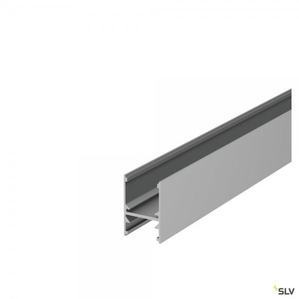 SLV 1001817 H-Profil 2741, Aufbauprofil, alu eloxiert, B/H/L 2,7x4,1x200cm, LED Strips max.B.1,6cm