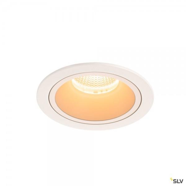SLV 1003929 Numinos L, Deckeneinbauleuchte, weiß, LED, 25,41W, 2700K, 2250lm, 40°