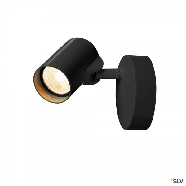 SLV 156500 Helia, Strahler, schwarz, dimmbar C, LED, 11W, 3000K, 620lm