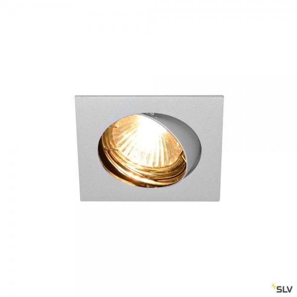 SLV 1002209 Pika, Deckeneinbauleuchte, chrom, QPAR51, GU10, max.50W