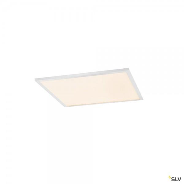 SLV 1001251 Valeto®, Panel, Deckeneinbauleuchte, weiß, 61,7x61,7cm, LED, 43W, 2700K-6500K, 3600lm