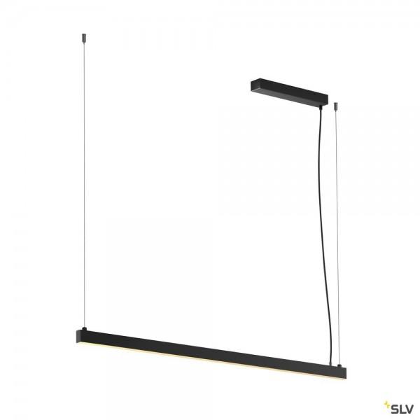 SLV 1001940 Arosa, schwarz matt, up&down, dimmbar Triac C, LED, 32W, 3000K, 1700lm