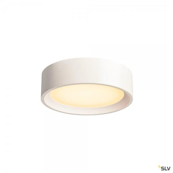 SLV 148005 Plastra, Gipsleuchte, weiß, dimmbar Triac C+L, LED, 15W, 3000K, 990lm