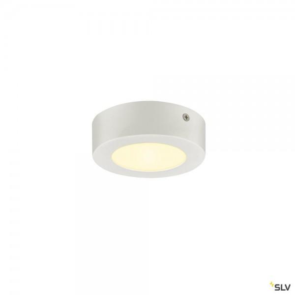 SLV 1003014 Senser 12 Wand- und Deckenleuchte, weiß, dimmbar Triac C, LED, 8,2W, 3000K, 480lm
