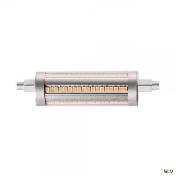 SLV 1002135 Leuchtmittel, silbergrau, dimmbar C+L, R7s 118mm, LED, 14W, 3000K, 2000lm