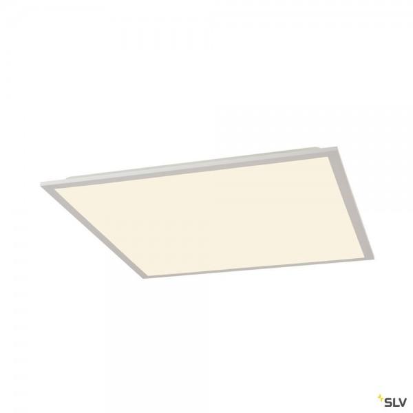 SLV 1003071 LED Panel, Deckeneinbauleuchte, weiß, 59,5x59,5cm, LED, 26W, 3000K/4000K, 2800lm