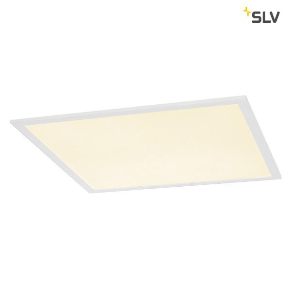 SLV 1001443 I-Vidual, Deckeneinbauleuchte, weiß, 59,5x59,5cm, LED, 34W, 3000K, 3700lm