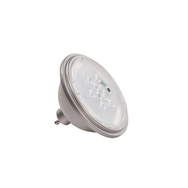 SLV 1000752 Valeto®, silbergrau, dimmbar, QPAR111, GU10, LED, 9,5W, 2700K, 830lm, 25°