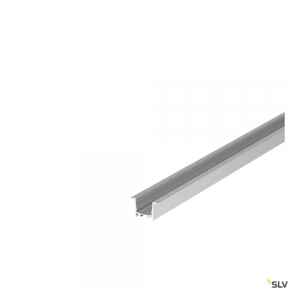 SLV 1004924 Grazia 20, Einbauprofil, aluminium, B/H/L 5,2x3,2x150cm, LED Strips max.B.2cm