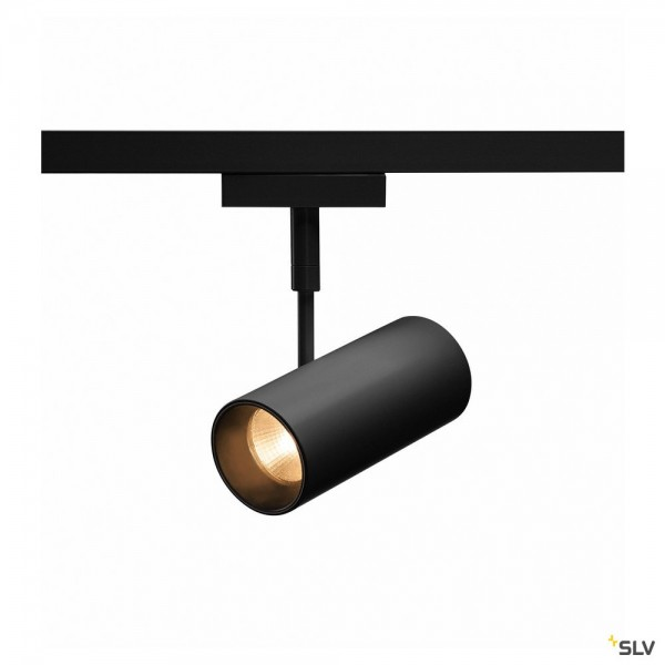 SLV 140200 Revilo, 2 Phasen, Strahler, schwarz, LED, 9,5W, 2700K, 620lm, 15°