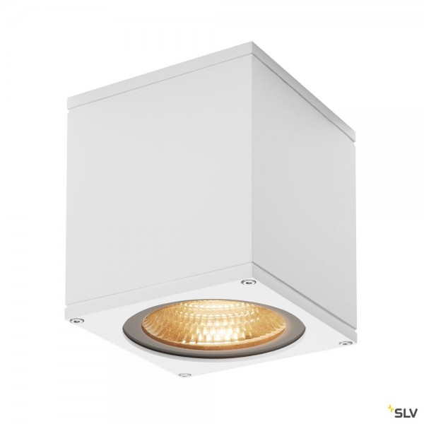 SLV 234531 Big Theo Ceiling, Deckenleuchte, weiß, IP44, LED, 21W, 3000K, 2000lm