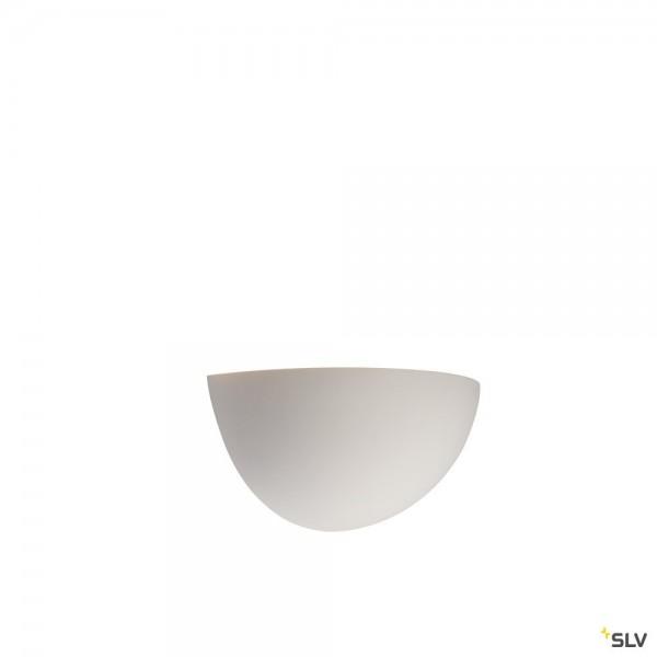 SLV 148013 Plastra, Gipsleuchte, weiß, E14, max.40W
