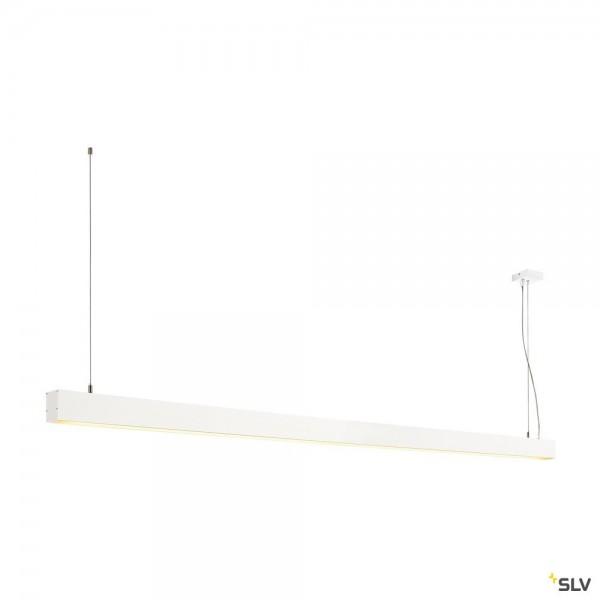 SLV 1001407 Glenos, Pendelleuchte, weiß matt, dimmbar 1-10V, LED, 85W, 3000K, 5700lm