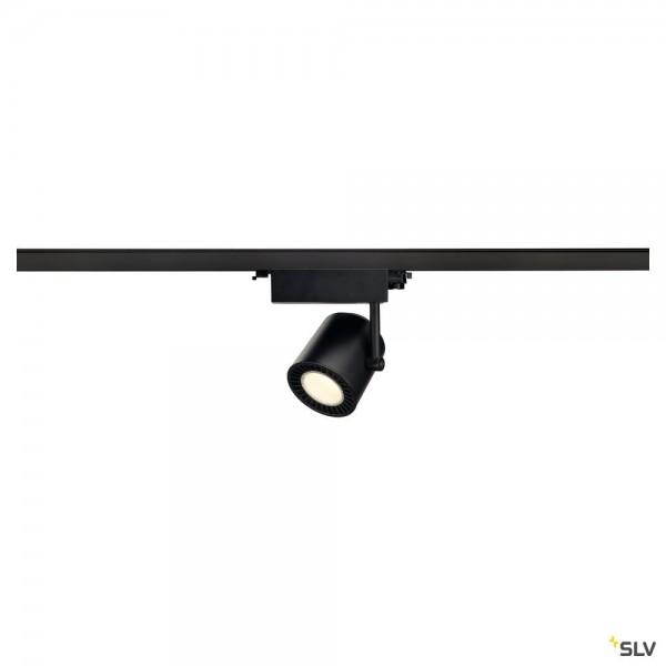 SLV 1003293 Supros Track, 3Phasen, Strahler, schwarz, LED, 31W, 4000K, 2700lm