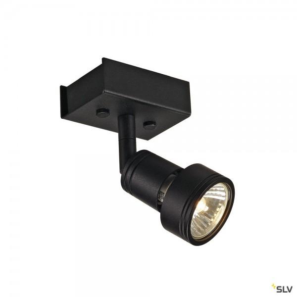 SLV 147360 Puri 1, Strahler, schwarz matt, QPAR51, GU10, max.50W