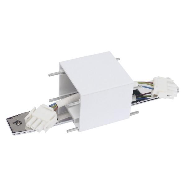 SLV 155051 Q-Line, Längsverbinder, weiß