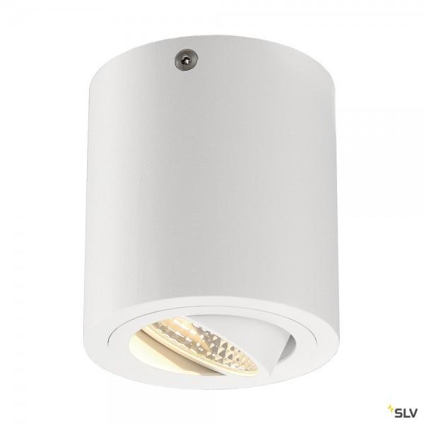 SLV 113931 Triledo Round, Deckenleuchte, weiß, LED, 8,1W, 3000K, 670lm