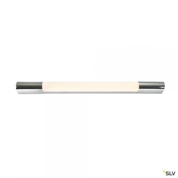 SLV 149762 Trukko 60, Spiegelleuchte, chrom/weiß, IP44, LED, 8W, 3000K, 450lm