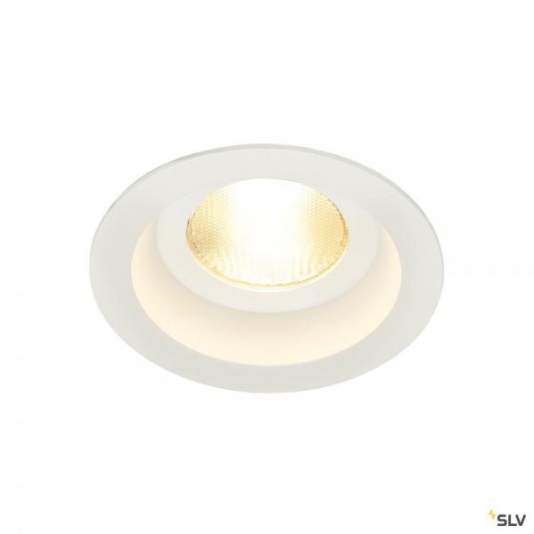 SLV 161291 Contone, Deckeneinbauleuchte, weiß, IP44, Dim to Warm C, LED, 16W, 2000K-3000K, 890lm