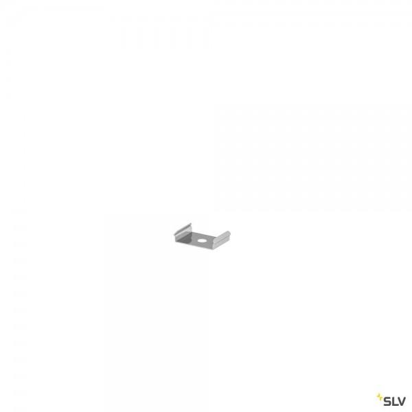 SLV 1000487 Montageclip 2 Stück, Edelstahl, nicht sichtbar, Grazia 10