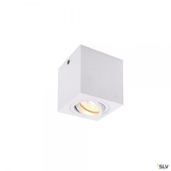SLV 1002015 Triledo Square, Deckenleuchte, weiß, LED GU10, max.10W