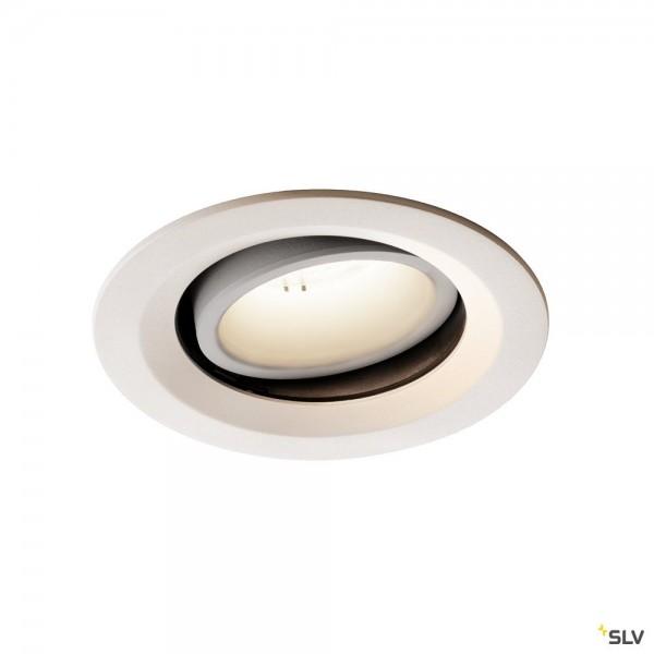 SLV 1003620 Numinos Move M, Deckeneinbauleuchte, weiß, LED, 17,55W, 4000K, 1750lm, 55°