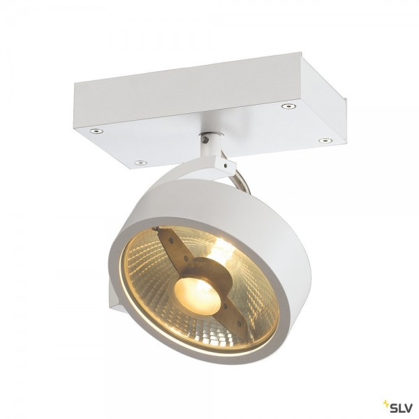 SLV 147301 Kalu, Strahler, weiß matt, QPAR111, GU10, max.75W