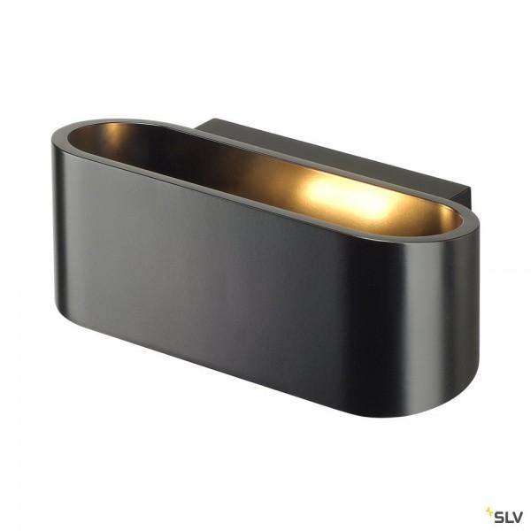 SLV 151450 Ossa 150, Wandleuchte, schwarz, up&down, R7s 78mm, max.100W