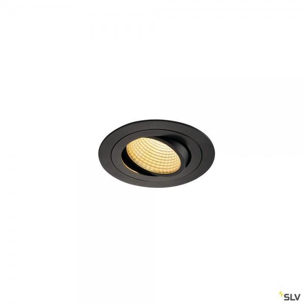 SLV 114220 New Tria 1 Set, Deckeneinbauleuchte, dimmbar L, LED, 16W, 2700K, 1010lm