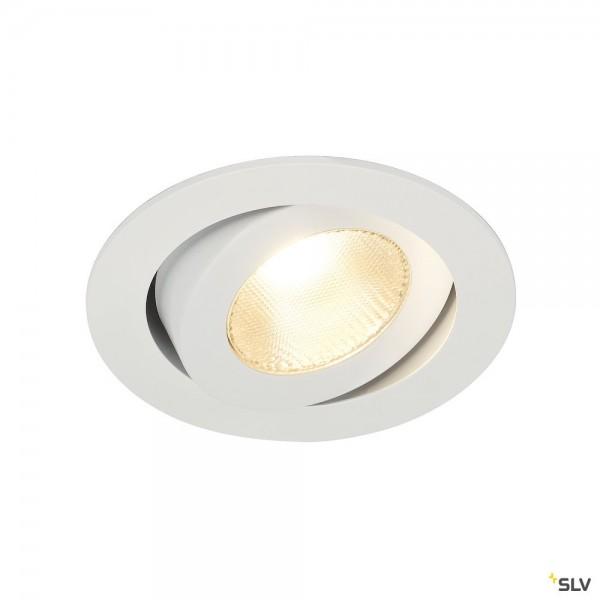 SLV 161271 Contone, Deckeneinbauleuchte, weiß, Dim to Warm C+L, LED, 16W, 2000K-3000K, 890lm