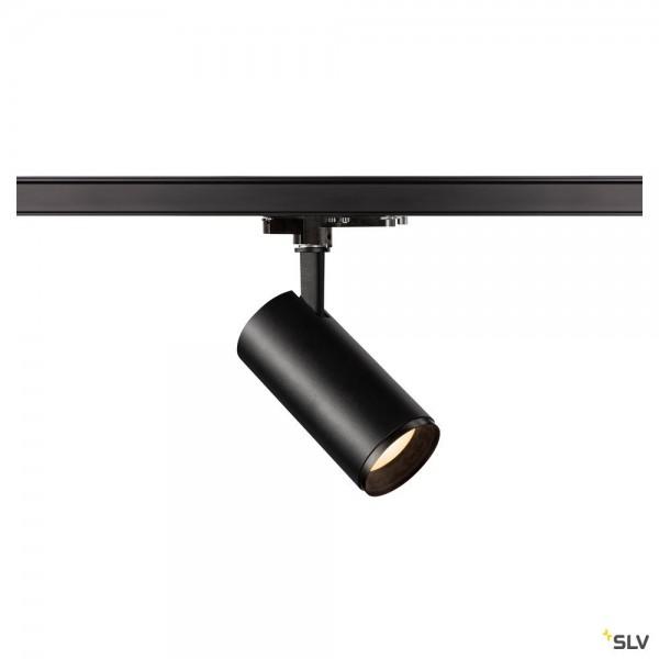 SLV 1004466 Numinos M, 3 Phasen, Strahler, schwarz, dimmbar Dali, LED, 20,1W, 3000K, 1930lm, 24°