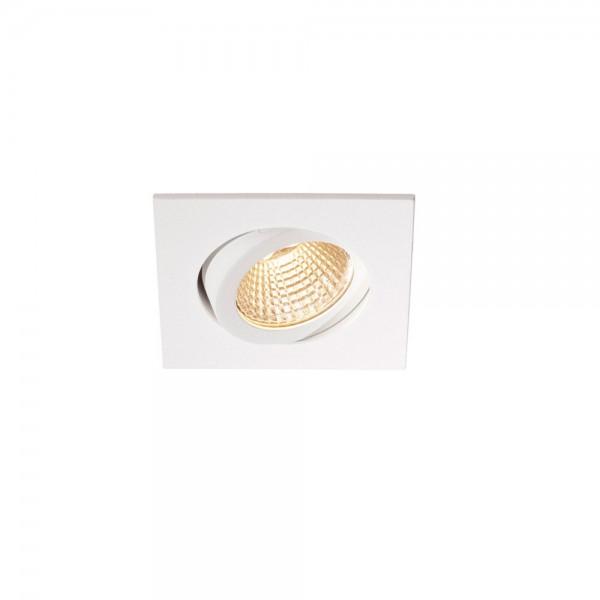 SLV 1000307 Pireq 68 Integrated, Einbauleuchte, weiß, IP23, LED, 6,6W, 3000K, 580lm