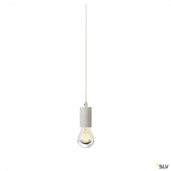 SLV 132691 Fitu, Pendelabhängung 500cm, weiß, ohne Rosette, E27, max.60W