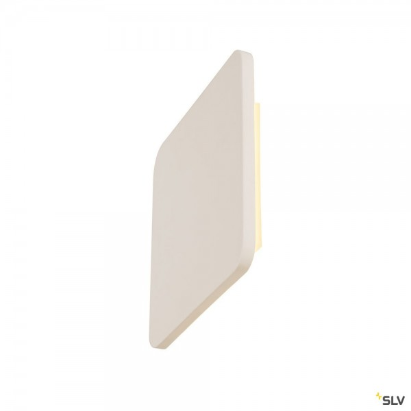 SLV 148019 Plastra Square, Gipsleuchte, weiß, LED, 13W, 3000K, 400lm