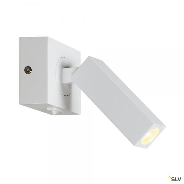 SLV 1000325 Stix, Wandleuchte, mit Schalter, LED, 4,5W, 3000K, 185lm