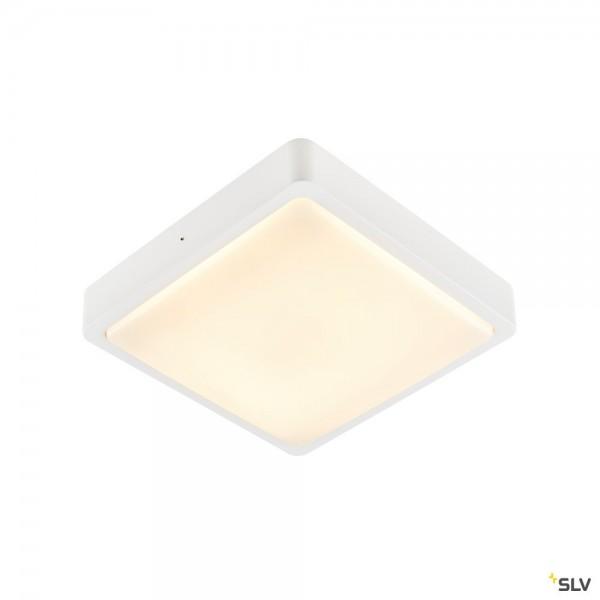 SLV 1003451 Ainos Square Sensor, weiß, IP65, LED, 18W, 3000K/4000K, 1300lm