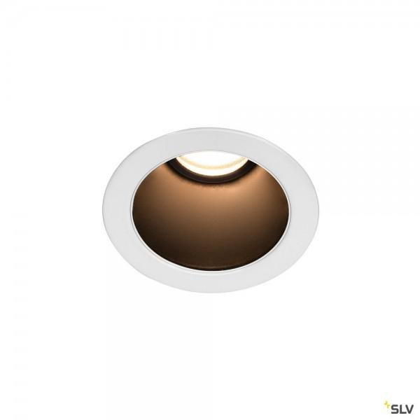 SLV 1002593 Horn Magna, Deckeneinbauleuchte, weiß/schwarz, LED, 7,7W, 3000K, 415lm