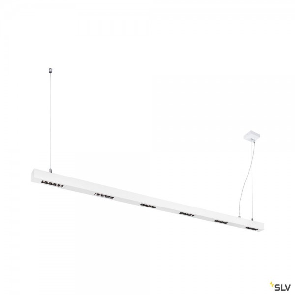 SLV 1000929 Q-Line, Pendelleuchte, weiß, dimmbar C, LED, 85W, 3000K, 4200lm