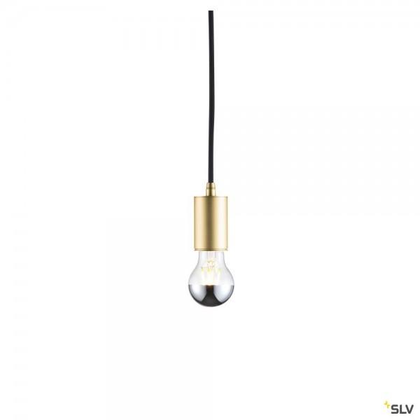 SLV 1002168 Fitu, Pendelabhängung, 500cm, gold, ohne Rosette, E27, max.60W